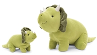 Small and Large Triceratops Set