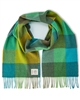 Avoca Merino Scarf - Blue/Green