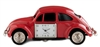 Red VW Bug Desk Clock