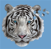 I Am White Tiger Puzzle