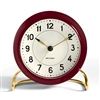 Arne Jacobsen Clock - Burgundy