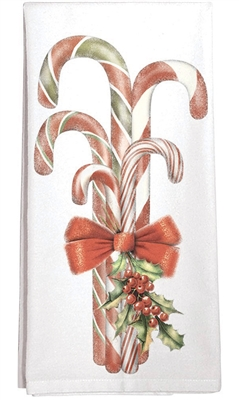 Candy Canes Towel