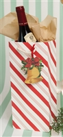 Candy Stripe Gift Bag With Tag