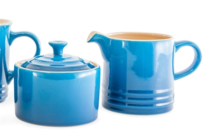 Le Creuset Sugar And Creamer - Marseille Blue
