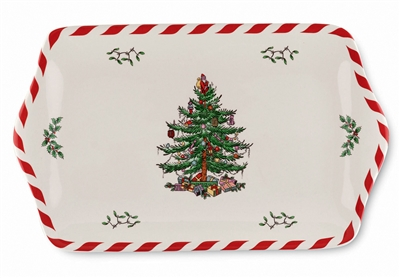 "Spode 12.5"" Tray - Christmas Tree"