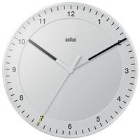 "Braun 11.8"" Wall Clock"