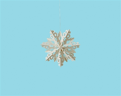 Paper Flurry Snowflakes - Set of 3