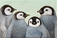 Winter Penguins Paper Placemats