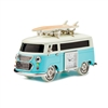 VW Bus Clock - Blue