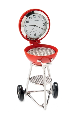 Grill Clock - Red