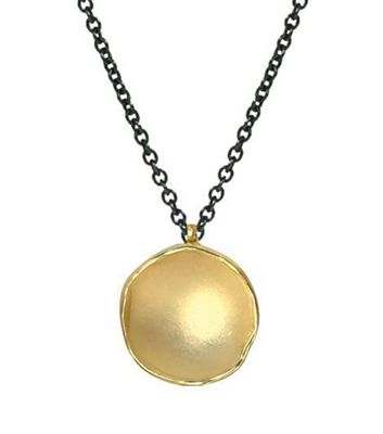 Milky Way Pod Necklace - Gold