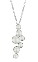 Milky Way Pod Necklace - Silver