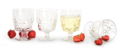 Acrylic Picnic Glasses (Set of 4)