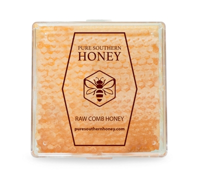 Hand-cut square of honeycomb, 1 pound