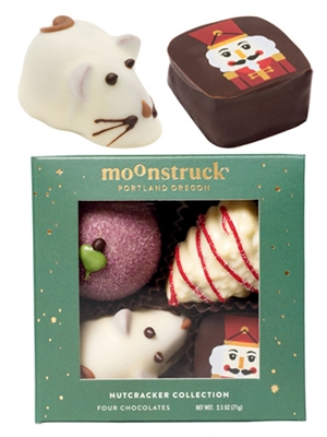 Holiday Tree, Mouse King, Sugar Plum, Nutcracker Chocolates