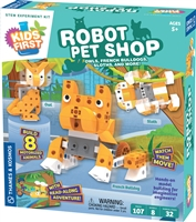 robot pet shop educational toy
