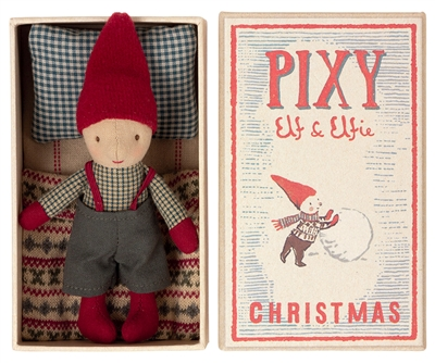 Pixy Doll and Box by Maileg