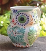 Hand-painted Ceramic Owl Mug