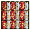 Box of Six Christmas Crackers