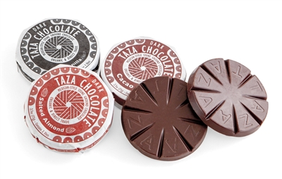Disks of Mexican-Style Chocolates
