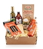 Box filled with 8 gourmet Italian foods