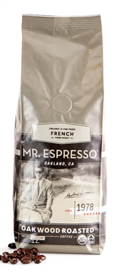 Bag of Mr Espresso Coffee Beans