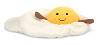 Plush fried egg by Jellycat