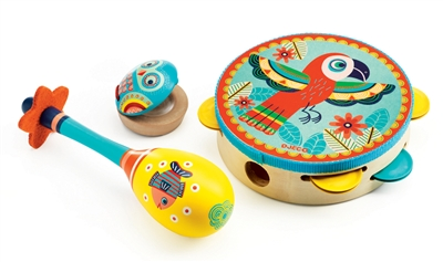 Kid's set of music instruments