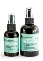 Rosemary and Mint Hand Sanitizer Spray- set of two- Elizabeth W