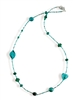 Venetian Glass Beaded Necklace