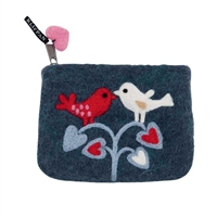 Swedish Felt Coin Purse