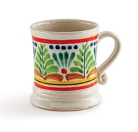 Handpainted Mexican Ceramic Mug
