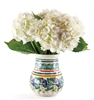 Handpainted Mexican Ceramic Vase for flowers