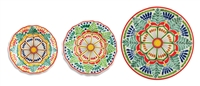 Gorky Flora Design Set of 3 Dishes