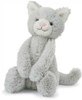 Dove-grey Kitty by Jellycat