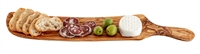 Olive Wood Appetizer Board with Handle, 15""