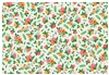 A Pad of Floral Print Paper Placemats