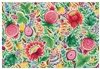 Fruit and Floral Print Paper Placemats