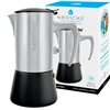 Stainless Steel 10-Cup Espresso Maker